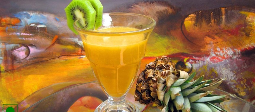 Pineapple-Lime Punch Recipe