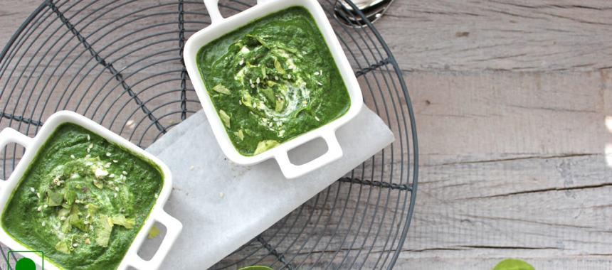 Creamy Spinach Soup Recipe