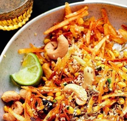Lilo Chevdo recipe by rasoi menu