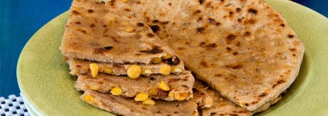 Chana-Stuffed Paratha Recipe by Rasoi Menu