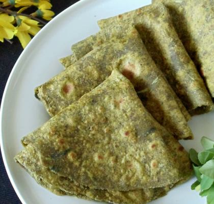 Hariyali Roti Recipe by Rasoi Menu
