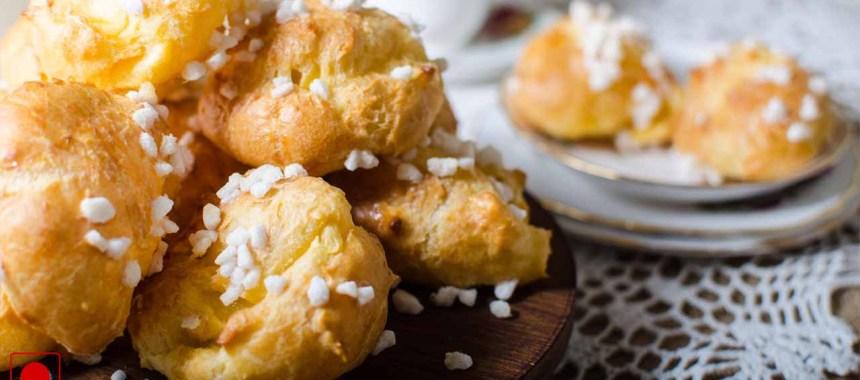 Cheesy Choux Pastry Recipe