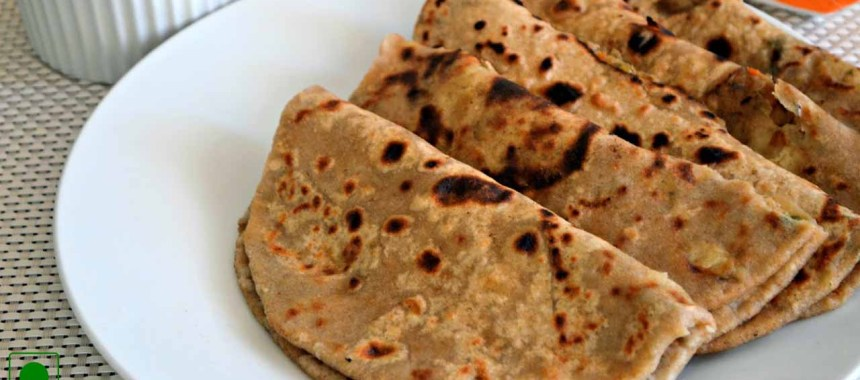 Mix Vegetable Paratha Recipe