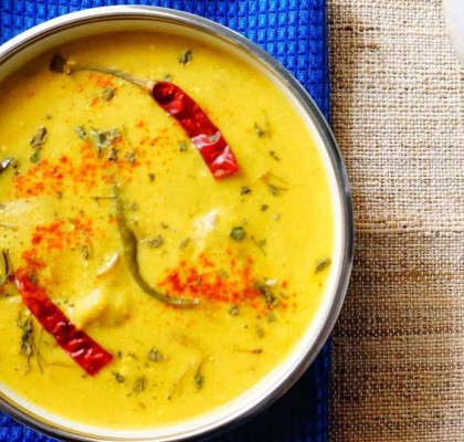punjabi kadhi pakora recipe by rasoi menu