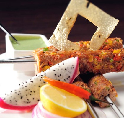 seekh kababs by rasoi menu