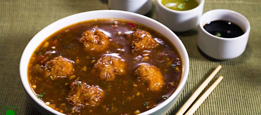 Vegetable Manchurian with Gravy Recipe