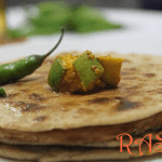 Bhakri With Spicy Ghee