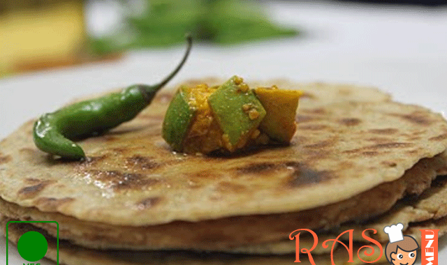 Bhakri With Spicy Ghee Recipe