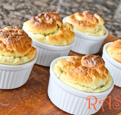 Gluten Free Cauliflower Souffle Recipe