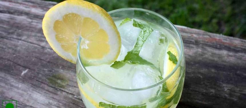 Mint Lemonade Mocktail Recipe