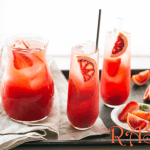 Orange and Strawberry Punch
