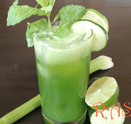 Sweet Melon and Cucumber Cooler Recipe