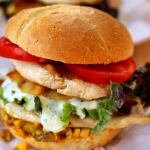 Cheese Chicken Burger