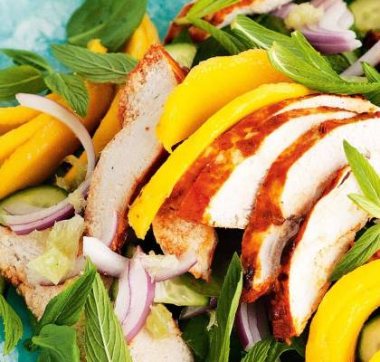 Chicken Mango Salad Recipe