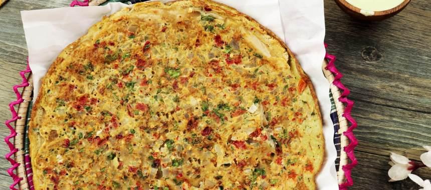 Egg Cheese Paratha Recipe