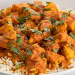 Paneer Chicken Curry