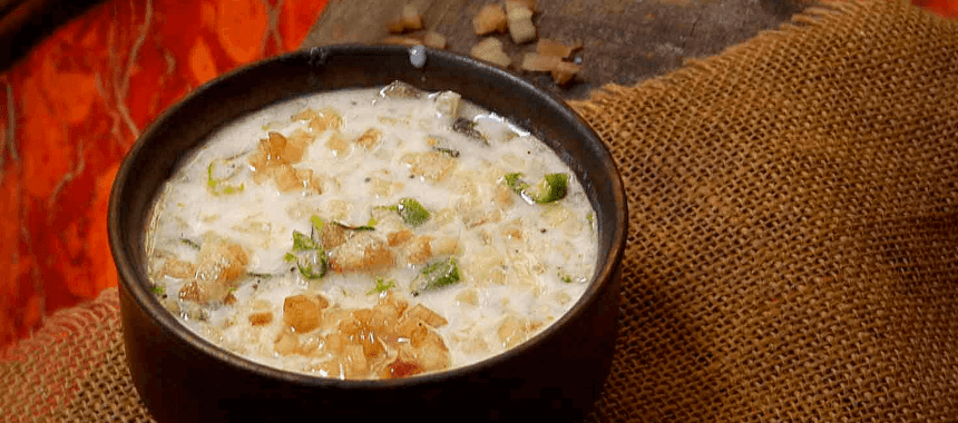 Banana Raita Recipe