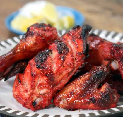 Fried Tandoori Chicken Recipe