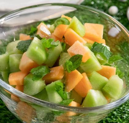 Cantaloupe Melon Salad Recipe