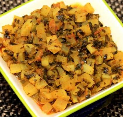 Mooli Ki Sabzi Recipe