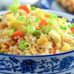 Stir Fried Rice With Peppers