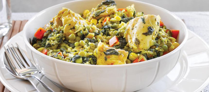 Chicken Pilaf Recipe