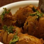 Kathiyawadi Style Stuffed Potato