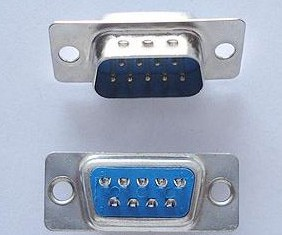 4 Pezzi DB9-pin Maschio, Solder DB9 Maschio the welding head DB9 Connettore RS232 Porta Seriale, RS232