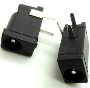 5 Pezzi piccolo straight power seat, ?3.5 hole inner needle, 1.2mmDC, piccolo power seat