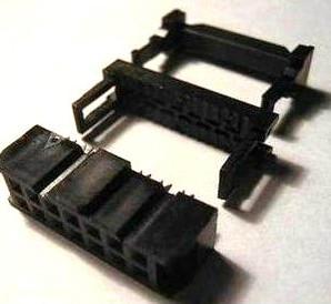 4 Pezzi 14 Position 2.54MM Pitch Femmina IDC Socket Flat Ribbon Cavo Connettore FC-14P