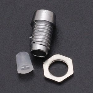 10 Pezzi F3 LED holder plastic