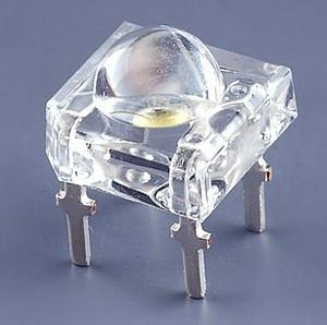 4 Pezzi Led Giallo SuperFlux Piranha 5mm Alta Luminosità