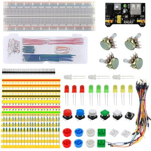 H005 Electronics fans Parts component package Kit 03 per Arduino Starter Courses