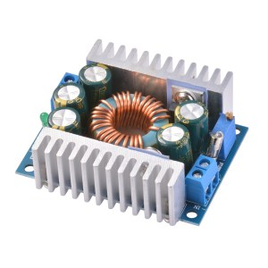 DC-DC Power Modulo 12A Regolabile Buck 95% Efficient Vehicle Alimentatore Low Ripple
