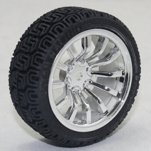 65MM Ruota Silver