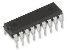 PIC16F88-I/P Microcontrollore 8 Bit, Flash, PIC16F, 20 MHz, 7 KB, 368 Byte, 18, DIP