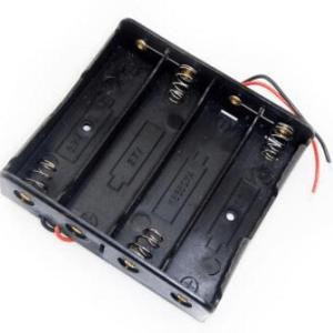 4X18650 contenitore batterie