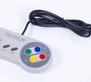Raspberry Pi 4B / 3B + / Arcade Retropie Retro Gamepad Controller USB / Controller SNES
