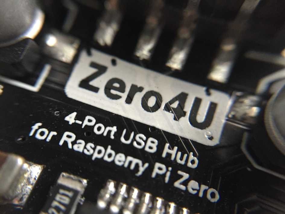 Review: Zero4U – A 4-port Pi Zero USB Hub