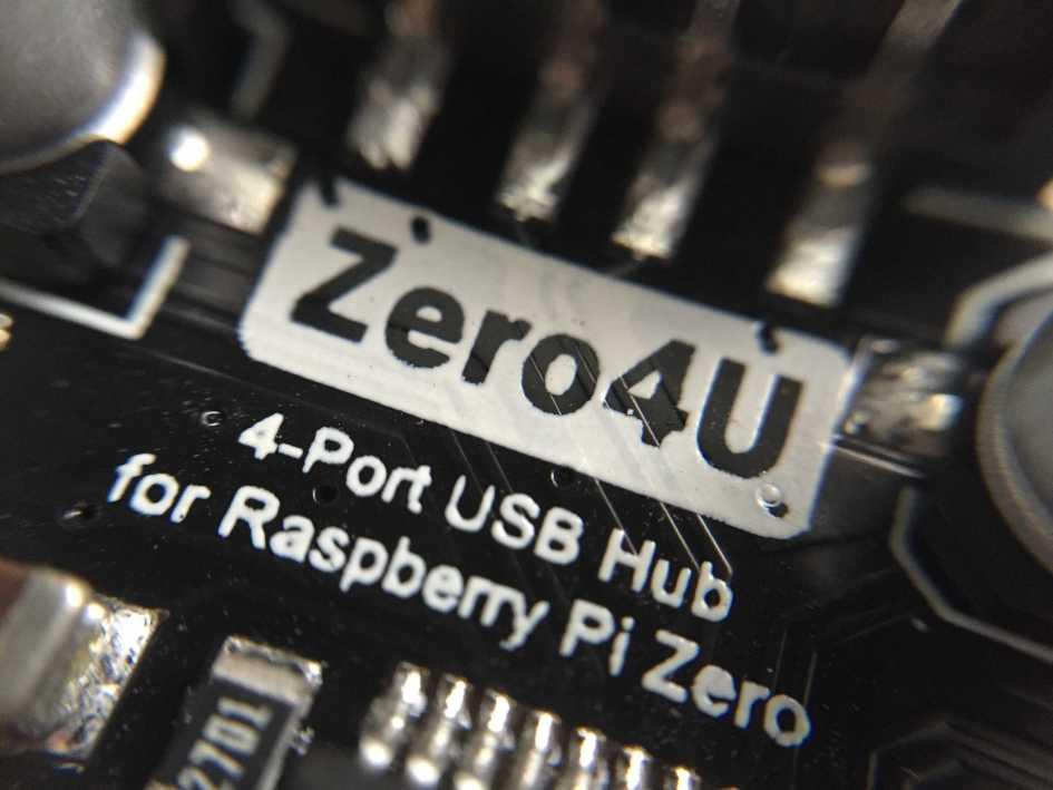 Review: Zero4U – A 4-port Pi Zero USB Hub