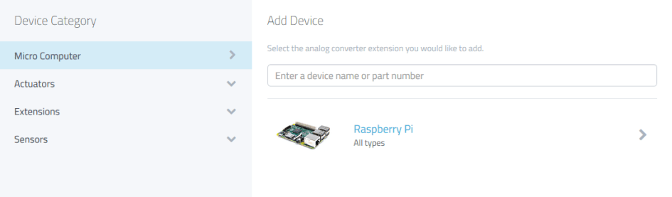 myDevices Cayenne Raspberry Pi