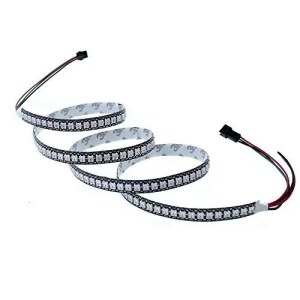 raspberryitalia alitove ws2812b 5050 rgb smd individually addressable led flexible strip