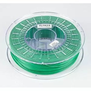 raspberryitalia filamento filoalfa 175mm pla verde 700g
