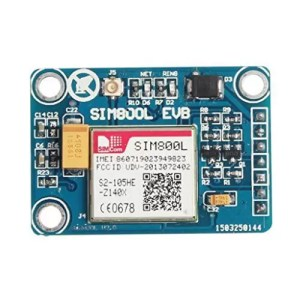 raspberryitalia homyl 1pcs sim800l gprs gsm module con antenna ttl seriale microcontrollori