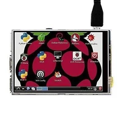 3.5'' 320x480 RGB LCD Touch Screen Display For Raspberry Pi A/A+/B/B+/2B/3B/Ze &