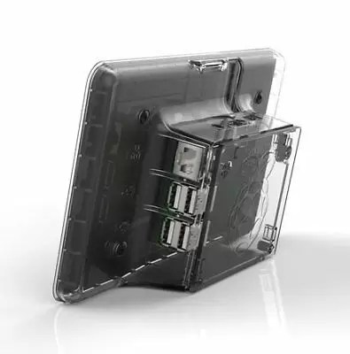 clear Case: transparent Raspberry Pi LCD Touchscreen Case [] CE (wx8)