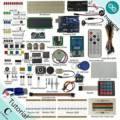 Freenove RFID Starter Kit V2.0 for Arduino | Beginner Learning | Uno R3 Mega ...