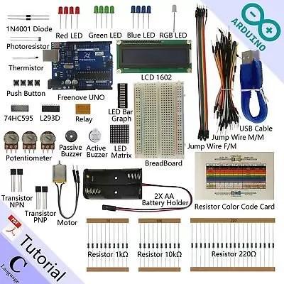 Freenove Super Starter Kit for Arduino | Beginner Learning | Uno R3 Mega (a0e)