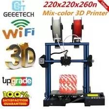 Geeetech A10M STAMPANTE 3D PRINTER PRUSA Acrilico Telaio acciaio Mista Colore IT