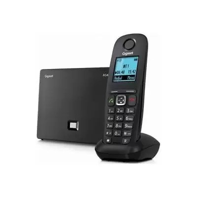 Gigaset A 540 IP Telefono Cordless Voip Nero A540 Ip